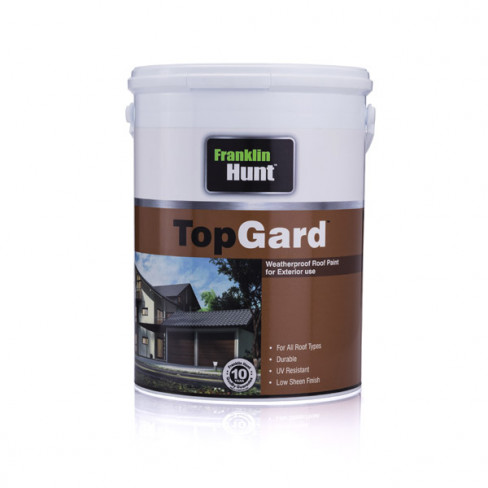 TOPGARD ROOF PAINT RED ROCK 20L (10 YEAR QUALITY)